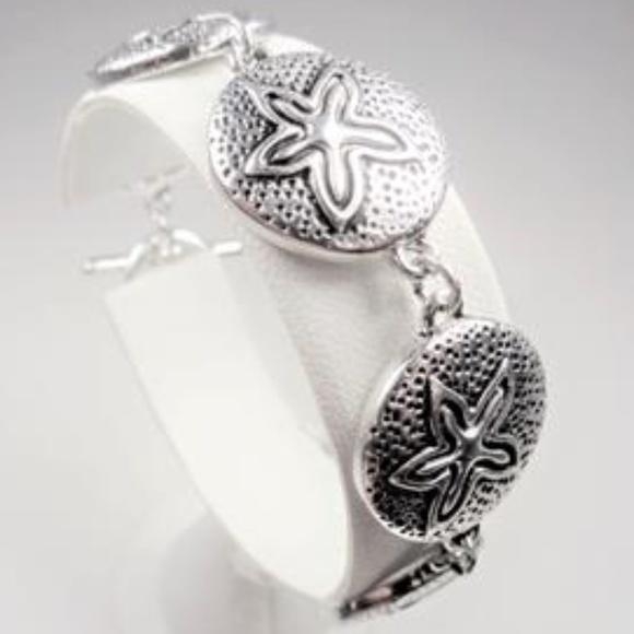 82efdeaaa96 Jewelry | Nautical Beach Sand Dollar Sea Life Ocean Bracelet | Poshmark